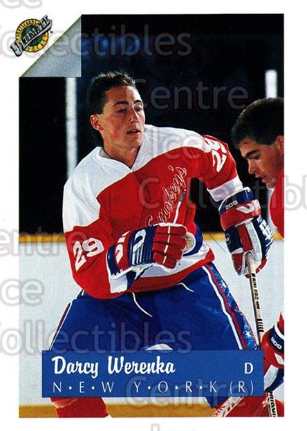 1991 Ultimate Draft #29 Darcy Werenka<br/>4 In Stock - $1.00 each - <a href=https://centericecollectibles.foxycart.com/cart?name=1991%20Ultimate%20Draft%20%2329%20Darcy%20Werenka...&quantity_max=4&price=$1.00&code=16275 class=foxycart> Buy it now! </a>