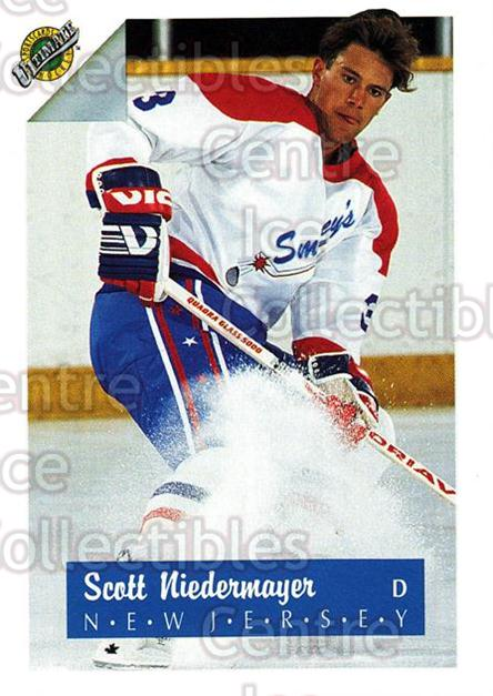 1991 Ultimate Draft #3 Scott Niedermayer<br/>14 In Stock - $1.00 each - <a href=https://centericecollectibles.foxycart.com/cart?name=1991%20Ultimate%20Draft%20%233%20Scott%20Niedermay...&quantity_max=14&price=$1.00&code=16276 class=foxycart> Buy it now! </a>
