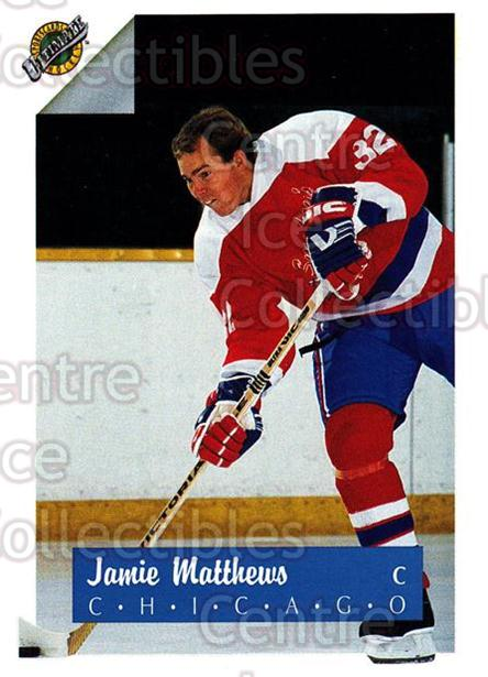 1991 Ultimate Draft #32 Jamie Matthews<br/>11 In Stock - $1.00 each - <a href=https://centericecollectibles.foxycart.com/cart?name=1991%20Ultimate%20Draft%20%2332%20Jamie%20Matthews...&quantity_max=11&price=$1.00&code=16279 class=foxycart> Buy it now! </a>