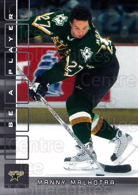 2001-02 BAP Memorabilia #473 Manny Malhotra<br/>6 In Stock - $1.00 each - <a href=https://centericecollectibles.foxycart.com/cart?name=2001-02%20BAP%20Memorabilia%20%23473%20Manny%20Malhotra...&quantity_max=6&price=$1.00&code=162829 class=foxycart> Buy it now! </a>