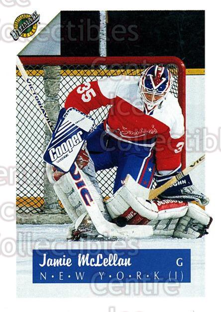1991 Ultimate Draft #35 Jamie McLennan<br/>11 In Stock - $1.00 each - <a href=https://centericecollectibles.foxycart.com/cart?name=1991%20Ultimate%20Draft%20%2335%20Jamie%20McLennan...&quantity_max=11&price=$1.00&code=16282 class=foxycart> Buy it now! </a>