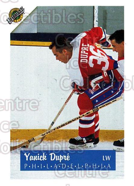 1991 Ultimate Draft #36 Yanic Dupre<br/>9 In Stock - $1.00 each - <a href=https://centericecollectibles.foxycart.com/cart?name=1991%20Ultimate%20Draft%20%2336%20Yanic%20Dupre...&quantity_max=9&price=$1.00&code=16283 class=foxycart> Buy it now! </a>