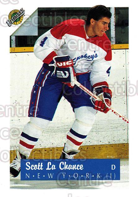 1991 Ultimate Draft #4 Scott Lachance<br/>9 In Stock - $1.00 each - <a href=https://centericecollectibles.foxycart.com/cart?name=1991%20Ultimate%20Draft%20%234%20Scott%20Lachance...&quantity_max=9&price=$1.00&code=16287 class=foxycart> Buy it now! </a>