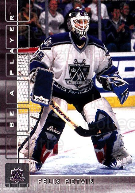2001-02 BAP Memorabilia #78 Felix Potvin<br/>5 In Stock - $1.00 each - <a href=https://centericecollectibles.foxycart.com/cart?name=2001-02%20BAP%20Memorabilia%20%2378%20Felix%20Potvin...&quantity_max=5&price=$1.00&code=162889 class=foxycart> Buy it now! </a>