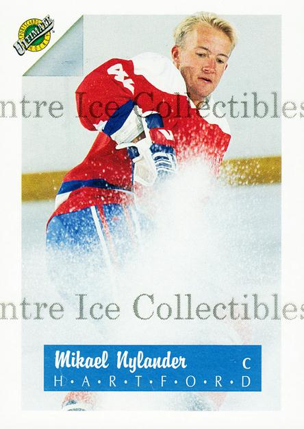 1991 Ultimate Draft #42 Michael Nylander<br/>13 In Stock - $1.00 each - <a href=https://centericecollectibles.foxycart.com/cart?name=1991%20Ultimate%20Draft%20%2342%20Michael%20Nylande...&quantity_max=13&price=$1.00&code=16289 class=foxycart> Buy it now! </a>