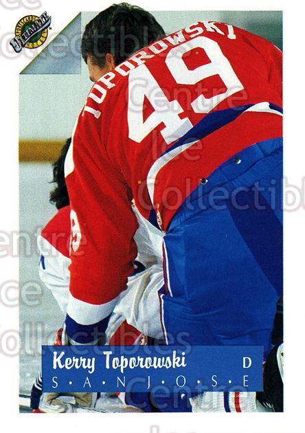 1991 Ultimate Draft #48 Kerry Toporowski<br/>3 In Stock - $1.00 each - <a href=https://centericecollectibles.foxycart.com/cart?name=1991%20Ultimate%20Draft%20%2348%20Kerry%20Toporowsk...&quantity_max=3&price=$1.00&code=16294 class=foxycart> Buy it now! </a>