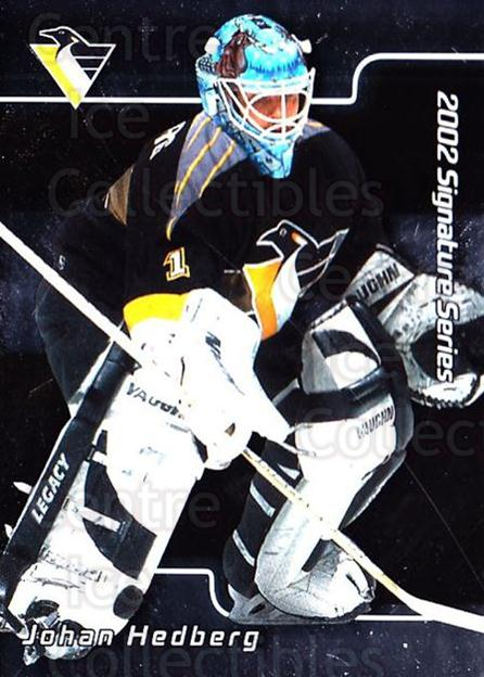 2001-02 BAP Signature Series #69 Johan Hedberg<br/>1 In Stock - $1.00 each - <a href=https://centericecollectibles.foxycart.com/cart?name=2001-02%20BAP%20Signature%20Series%20%2369%20Johan%20Hedberg...&quantity_max=1&price=$1.00&code=162986 class=foxycart> Buy it now! </a>