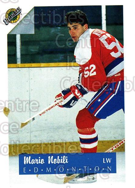 1991 Ultimate Draft #51 Mario Nobili<br/>11 In Stock - $1.00 each - <a href=https://centericecollectibles.foxycart.com/cart?name=1991%20Ultimate%20Draft%20%2351%20Mario%20Nobili...&quantity_max=11&price=$1.00&code=16298 class=foxycart> Buy it now! </a>