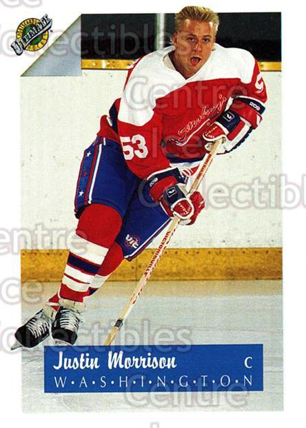 1991 Ultimate Draft #52 Justin Morrison<br/>4 In Stock - $1.00 each - <a href=https://centericecollectibles.foxycart.com/cart?name=1991%20Ultimate%20Draft%20%2352%20Justin%20Morrison...&quantity_max=4&price=$1.00&code=16299 class=foxycart> Buy it now! </a>