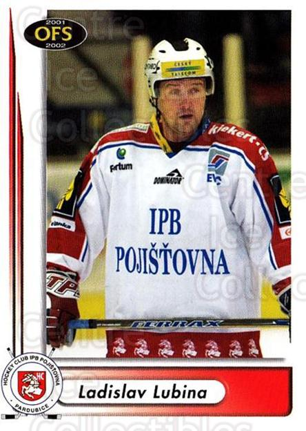 2001-02 Czech OFS #255 Ladislav Lubina<br/>5 In Stock - $2.00 each - <a href=https://centericecollectibles.foxycart.com/cart?name=2001-02%20Czech%20OFS%20%23255%20Ladislav%20Lubina...&quantity_max=5&price=$2.00&code=163029 class=foxycart> Buy it now! </a>
