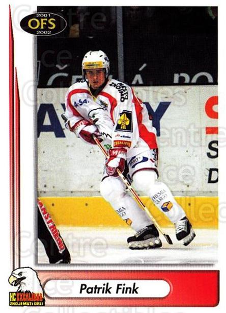 2001-02 Czech OFS #262 Patrik Fink<br/>5 In Stock - $2.00 each - <a href=https://centericecollectibles.foxycart.com/cart?name=2001-02%20Czech%20OFS%20%23262%20Patrik%20Fink...&quantity_max=5&price=$2.00&code=163036 class=foxycart> Buy it now! </a>