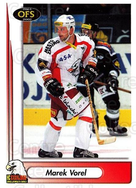2001-02 Czech OFS #264 Marek Vorel<br/>4 In Stock - $2.00 each - <a href=https://centericecollectibles.foxycart.com/cart?name=2001-02%20Czech%20OFS%20%23264%20Marek%20Vorel...&quantity_max=4&price=$2.00&code=163038 class=foxycart> Buy it now! </a>
