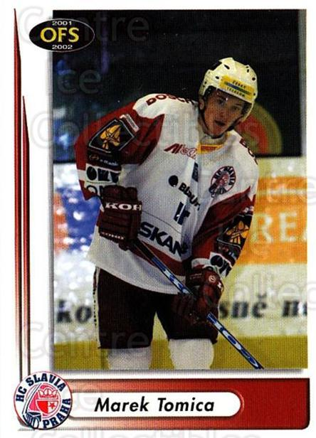 2001-02 Czech OFS #281 Marek Tomica<br/>6 In Stock - $2.00 each - <a href=https://centericecollectibles.foxycart.com/cart?name=2001-02%20Czech%20OFS%20%23281%20Marek%20Tomica...&quantity_max=6&price=$2.00&code=163055 class=foxycart> Buy it now! </a>