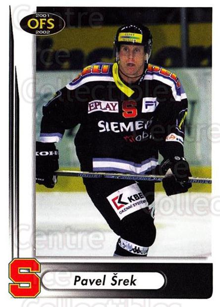 2001-02 Czech OFS #29 Pavel Srek<br/>2 In Stock - $2.00 each - <a href=https://centericecollectibles.foxycart.com/cart?name=2001-02%20Czech%20OFS%20%2329%20Pavel%20Srek...&quantity_max=2&price=$2.00&code=163059 class=foxycart> Buy it now! </a>