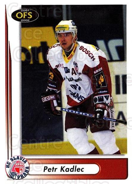2001-02 Czech OFS #3 Petr Kadlec<br/>4 In Stock - $2.00 each - <a href=https://centericecollectibles.foxycart.com/cart?name=2001-02%20Czech%20OFS%20%233%20Petr%20Kadlec...&quantity_max=4&price=$2.00&code=163060 class=foxycart> Buy it now! </a>