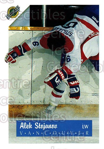 1991 Ultimate Draft #6 Alex Stojanov<br/>9 In Stock - $1.00 each - <a href=https://centericecollectibles.foxycart.com/cart?name=1991%20Ultimate%20Draft%20%236%20Alex%20Stojanov...&quantity_max=9&price=$1.00&code=16306 class=foxycart> Buy it now! </a>