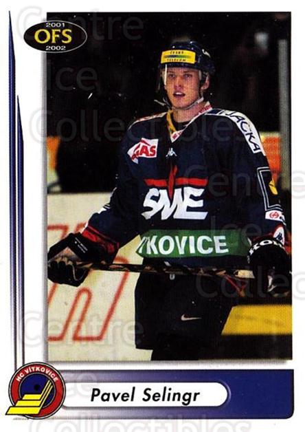 2001-02 Czech OFS #45 Pavel Selingr<br/>4 In Stock - $2.00 each - <a href=https://centericecollectibles.foxycart.com/cart?name=2001-02%20Czech%20OFS%20%2345%20Pavel%20Selingr...&quantity_max=4&price=$2.00&code=163075 class=foxycart> Buy it now! </a>