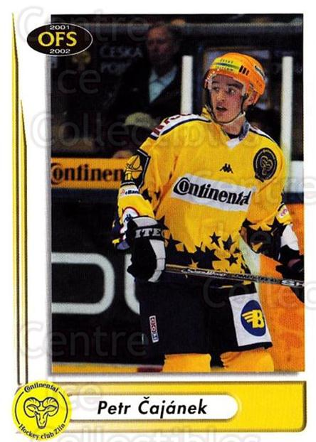 2001-02 Czech OFS #93 Petr Cajanek<br/>4 In Stock - $2.00 each - <a href=https://centericecollectibles.foxycart.com/cart?name=2001-02%20Czech%20OFS%20%2393%20Petr%20Cajanek...&quantity_max=4&price=$2.00&code=163123 class=foxycart> Buy it now! </a>