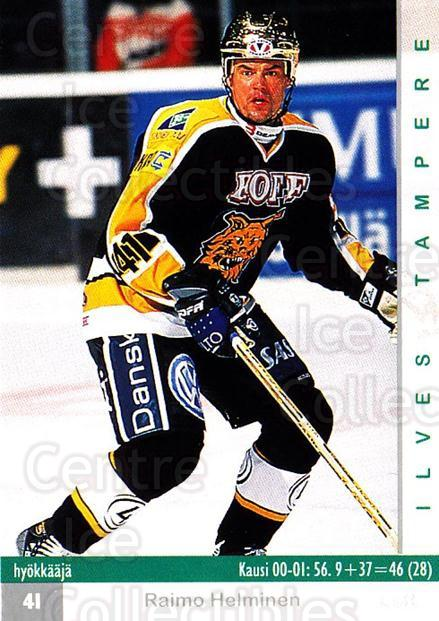 2001-02 Finnish Cardset #244 Raimo Helminen<br/>4 In Stock - $2.00 each - <a href=https://centericecollectibles.foxycart.com/cart?name=2001-02%20Finnish%20Cardset%20%23244%20Raimo%20Helminen...&price=$2.00&code=163130 class=foxycart> Buy it now! </a>