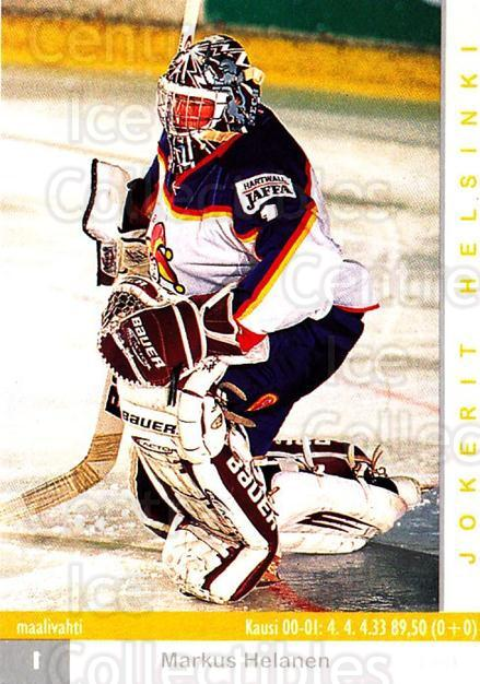 2001-02 Finnish Cardset #246 Markus Helanen<br/>8 In Stock - $2.00 each - <a href=https://centericecollectibles.foxycart.com/cart?name=2001-02%20Finnish%20Cardset%20%23246%20Markus%20Helanen...&price=$2.00&code=163132 class=foxycart> Buy it now! </a>