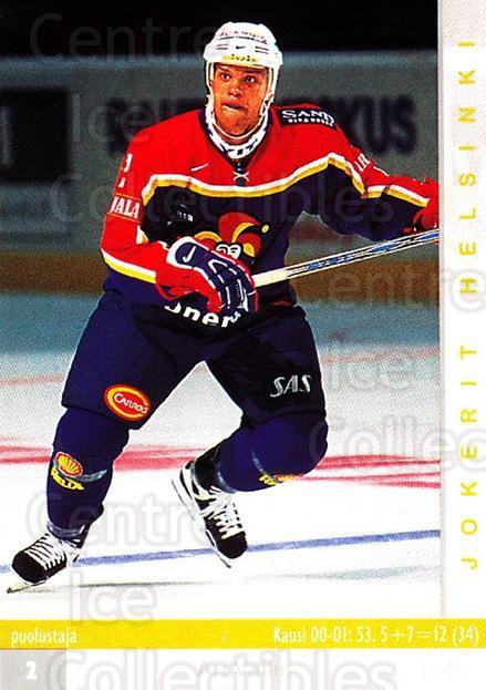 2001-02 Finnish Cardset #249 Ari Vallin<br/>6 In Stock - $2.00 each - <a href=https://centericecollectibles.foxycart.com/cart?name=2001-02%20Finnish%20Cardset%20%23249%20Ari%20Vallin...&price=$2.00&code=163134 class=foxycart> Buy it now! </a>