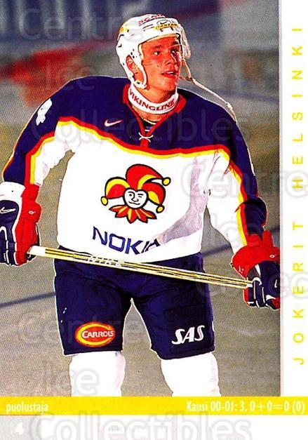 2001-02 Finnish Cardset #251 Tuomas Luotonen<br/>6 In Stock - $2.00 each - <a href=https://centericecollectibles.foxycart.com/cart?name=2001-02%20Finnish%20Cardset%20%23251%20Tuomas%20Luotonen...&price=$2.00&code=163137 class=foxycart> Buy it now! </a>