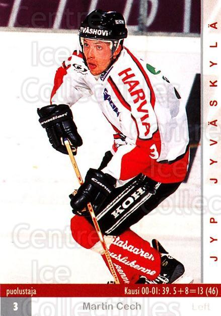 2001-02 Finnish Cardset #268 Martin Cech<br/>5 In Stock - $2.00 each - <a href=https://centericecollectibles.foxycart.com/cart?name=2001-02%20Finnish%20Cardset%20%23268%20Martin%20Cech...&quantity_max=5&price=$2.00&code=163155 class=foxycart> Buy it now! </a>