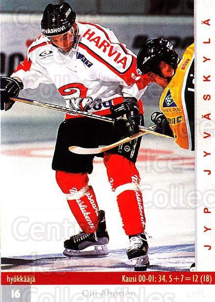 2001-02 Finnish Cardset #273 Olli Ahonen<br/>7 In Stock - $2.00 each - <a href=https://centericecollectibles.foxycart.com/cart?name=2001-02%20Finnish%20Cardset%20%23273%20Olli%20Ahonen...&quantity_max=7&price=$2.00&code=163161 class=foxycart> Buy it now! </a>