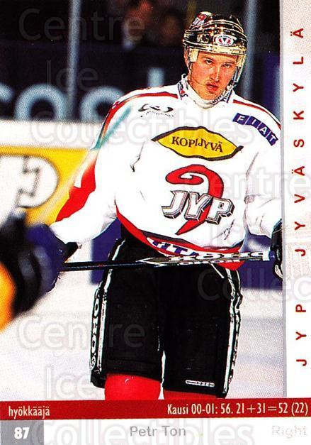 2001-02 Finnish Cardset #276 Petr Ton<br/>1 In Stock - $2.00 each - <a href=https://centericecollectibles.foxycart.com/cart?name=2001-02%20Finnish%20Cardset%20%23276%20Petr%20Ton...&quantity_max=1&price=$2.00&code=163164 class=foxycart> Buy it now! </a>