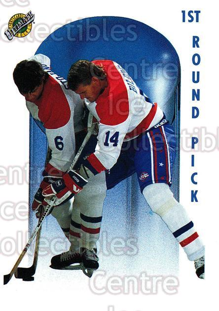 1991 Ultimate Draft #70 Brent Bilodeau<br/>12 In Stock - $1.00 each - <a href=https://centericecollectibles.foxycart.com/cart?name=1991%20Ultimate%20Draft%20%2370%20Brent%20Bilodeau...&quantity_max=12&price=$1.00&code=16318 class=foxycart> Buy it now! </a>