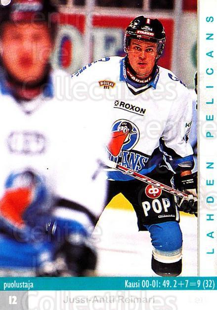 2001-02 Finnish Cardset #310 Jussi Antti<br/>7 In Stock - $2.00 each - <a href=https://centericecollectibles.foxycart.com/cart?name=2001-02%20Finnish%20Cardset%20%23310%20Jussi%20Antti...&quantity_max=7&price=$2.00&code=163202 class=foxycart> Buy it now! </a>