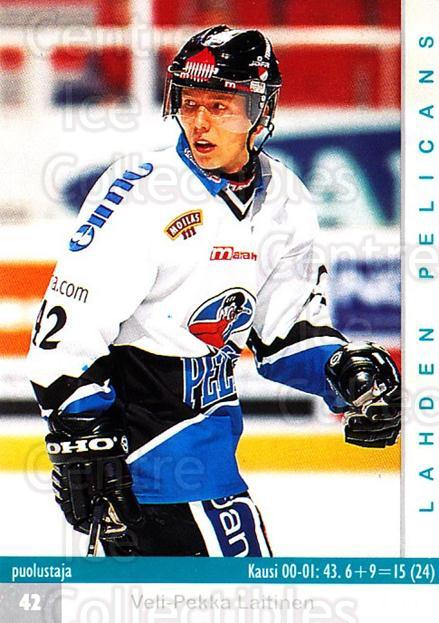 2001-02 Finnish Cardset #311 Veli-Pekka Laitinen<br/>8 In Stock - $2.00 each - <a href=https://centericecollectibles.foxycart.com/cart?name=2001-02%20Finnish%20Cardset%20%23311%20Veli-Pekka%20Lait...&quantity_max=8&price=$2.00&code=163203 class=foxycart> Buy it now! </a>