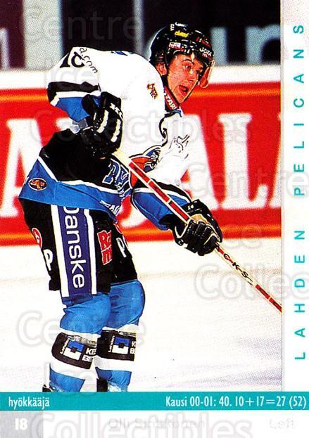 2001-02 Finnish Cardset #315 Olli Sinkkonen<br/>7 In Stock - $2.00 each - <a href=https://centericecollectibles.foxycart.com/cart?name=2001-02%20Finnish%20Cardset%20%23315%20Olli%20Sinkkonen...&quantity_max=7&price=$2.00&code=163207 class=foxycart> Buy it now! </a>