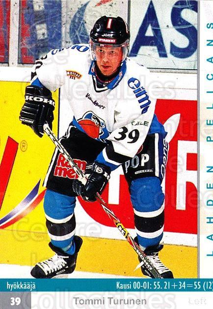 2001-02 Finnish Cardset #320 Tommi Turunen<br/>7 In Stock - $2.00 each - <a href=https://centericecollectibles.foxycart.com/cart?name=2001-02%20Finnish%20Cardset%20%23320%20Tommi%20Turunen...&quantity_max=7&price=$2.00&code=163213 class=foxycart> Buy it now! </a>