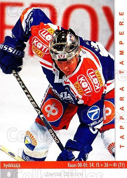 2001-02 Finnish Cardset #345 Janne Ojanen<br/>7 In Stock - $2.00 each - <a href=https://centericecollectibles.foxycart.com/cart?name=2001-02%20Finnish%20Cardset%20%23345%20Janne%20Ojanen...&quantity_max=7&price=$2.00&code=163239 class=foxycart> Buy it now! </a>