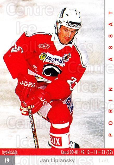 2001-02 Finnish Cardset #374 Jan Lipansky<br/>7 In Stock - $2.00 each - <a href=https://centericecollectibles.foxycart.com/cart?name=2001-02%20Finnish%20Cardset%20%23374%20Jan%20Lipansky...&quantity_max=7&price=$2.00&code=163271 class=foxycart> Buy it now! </a>