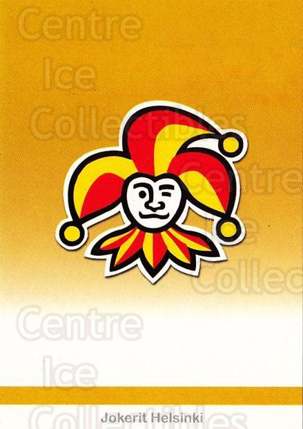 2001-02 Finnish Cardset #48 Jokerit Helsinki<br/>7 In Stock - $2.00 each - <a href=https://centericecollectibles.foxycart.com/cart?name=2001-02%20Finnish%20Cardset%20%2348%20Jokerit%20Helsink...&price=$2.00&code=163289 class=foxycart> Buy it now! </a>