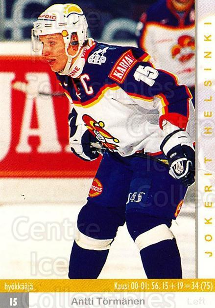 2001-02 Finnish Cardset #54 Antti Tormanen<br/>6 In Stock - $2.00 each - <a href=https://centericecollectibles.foxycart.com/cart?name=2001-02%20Finnish%20Cardset%20%2354%20Antti%20Tormanen...&price=$2.00&code=163296 class=foxycart> Buy it now! </a>