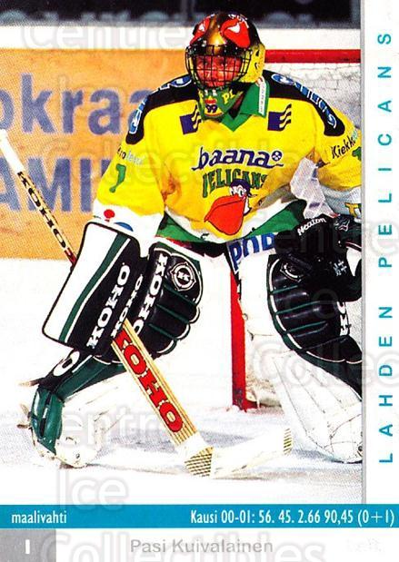 2001-02 Finnish Cardset #97 Pasi Kuivalainen<br/>7 In Stock - $2.00 each - <a href=https://centericecollectibles.foxycart.com/cart?name=2001-02%20Finnish%20Cardset%20%2397%20Pasi%20Kuivalaine...&quantity_max=7&price=$2.00&code=163343 class=foxycart> Buy it now! </a>