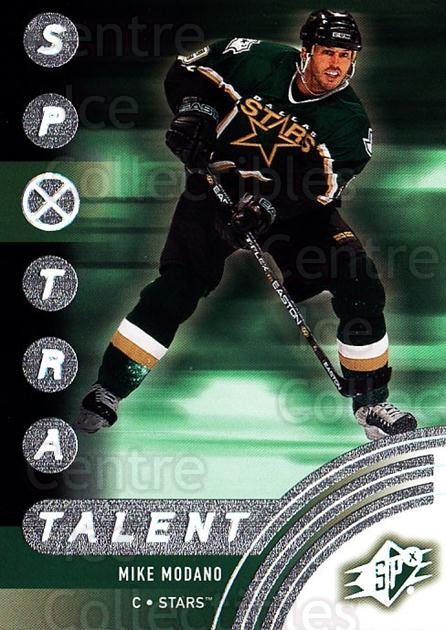 2001-02 SPx #84 Mike Modano<br/>6 In Stock - $1.00 each - <a href=https://centericecollectibles.foxycart.com/cart?name=2001-02%20SPx%20%2384%20Mike%20Modano...&quantity_max=6&price=$1.00&code=163348 class=foxycart> Buy it now! </a>