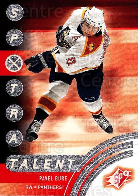 2001-02 SPx #86 Pavel Bure<br/>6 In Stock - $1.00 each - <a href=https://centericecollectibles.foxycart.com/cart?name=2001-02%20SPx%20%2386%20Pavel%20Bure...&quantity_max=6&price=$1.00&code=163350 class=foxycart> Buy it now! </a>