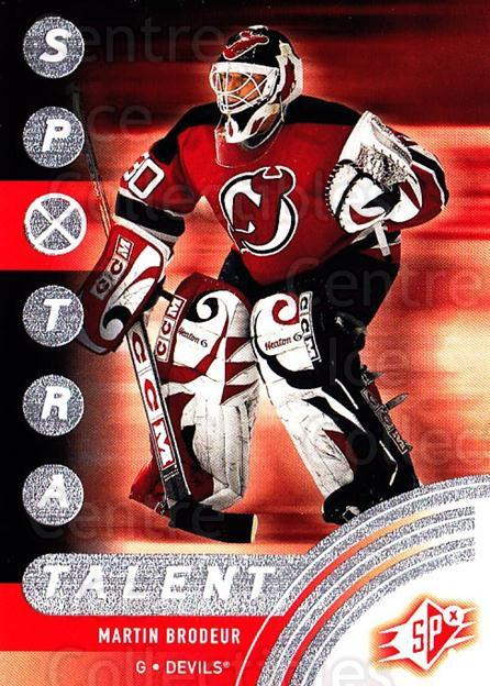 2001-02 SPx #87 Martin Brodeur<br/>2 In Stock - $2.00 each - <a href=https://centericecollectibles.foxycart.com/cart?name=2001-02%20SPx%20%2387%20Martin%20Brodeur...&quantity_max=2&price=$2.00&code=163351 class=foxycart> Buy it now! </a>