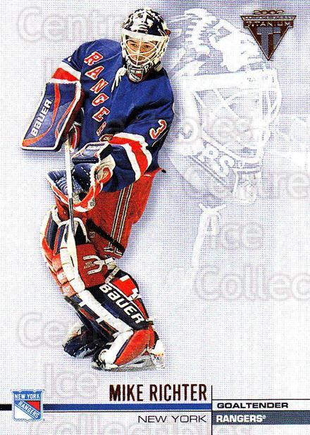 2001-02 Titanium Retail #96 Mike Richter<br/>5 In Stock - $1.00 each - <a href=https://centericecollectibles.foxycart.com/cart?name=2001-02%20Titanium%20Retail%20%2396%20Mike%20Richter...&quantity_max=5&price=$1.00&code=163361 class=foxycart> Buy it now! </a>