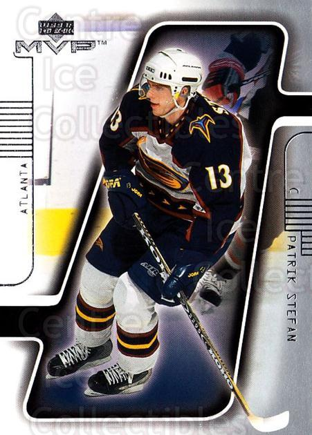 2001-02 Upper Deck MVP #7 Patrik Stefan<br/>3 In Stock - $1.00 each - <a href=https://centericecollectibles.foxycart.com/cart?name=2001-02%20Upper%20Deck%20MVP%20%237%20Patrik%20Stefan...&quantity_max=3&price=$1.00&code=163442 class=foxycart> Buy it now! </a>