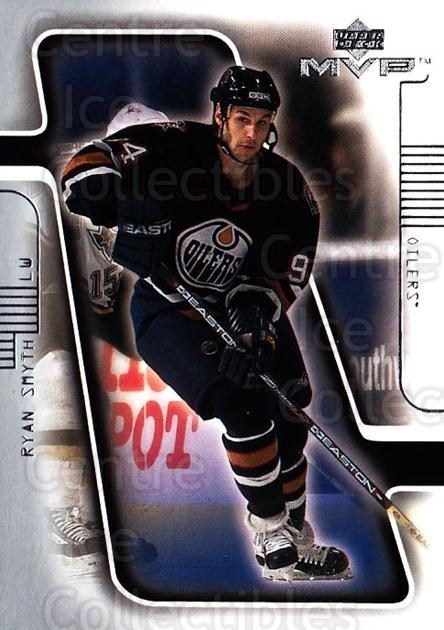 2001-02 Upper Deck MVP #72 Ryan Smyth<br/>4 In Stock - $1.00 each - <a href=https://centericecollectibles.foxycart.com/cart?name=2001-02%20Upper%20Deck%20MVP%20%2372%20Ryan%20Smyth...&quantity_max=4&price=$1.00&code=163445 class=foxycart> Buy it now! </a>