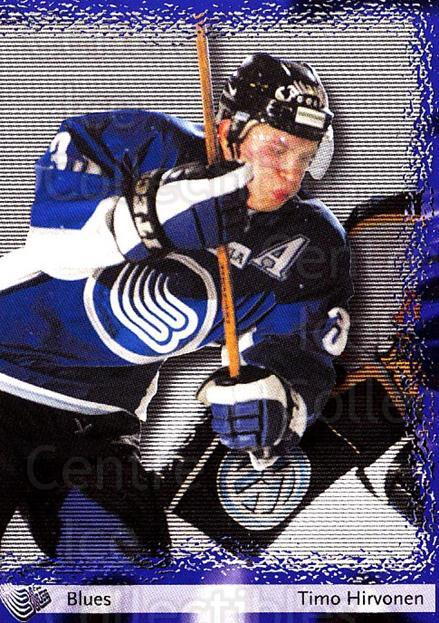 2002-03 Finnish Cardset #25 Timo Hirvonen<br/>7 In Stock - $2.00 each - <a href=https://centericecollectibles.foxycart.com/cart?name=2002-03%20Finnish%20Cardset%20%2325%20Timo%20Hirvonen...&quantity_max=7&price=$2.00&code=163749 class=foxycart> Buy it now! </a>