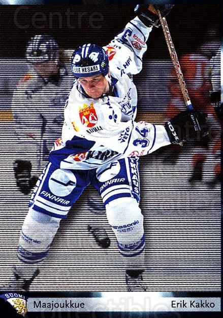 2002-03 Finnish Cardset #32 Erik Kakko<br/>7 In Stock - $2.00 each - <a href=https://centericecollectibles.foxycart.com/cart?name=2002-03%20Finnish%20Cardset%20%2332%20Erik%20Kakko...&quantity_max=7&price=$2.00&code=163802 class=foxycart> Buy it now! </a>