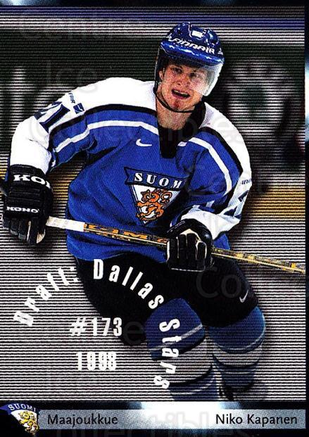 2002-03 Finnish Cardset #35 Niko Kapanen<br/>5 In Stock - $2.00 each - <a href=https://centericecollectibles.foxycart.com/cart?name=2002-03%20Finnish%20Cardset%20%2335%20Niko%20Kapanen...&quantity_max=5&price=$2.00&code=163805 class=foxycart> Buy it now! </a>
