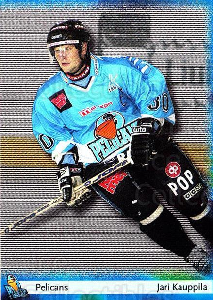 2002-03 Finnish Cardset #37 Jari Kauppila<br/>8 In Stock - $2.00 each - <a href=https://centericecollectibles.foxycart.com/cart?name=2002-03%20Finnish%20Cardset%20%2337%20Jari%20Kauppila...&quantity_max=8&price=$2.00&code=163807 class=foxycart> Buy it now! </a>