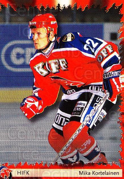 2002-03 Finnish Cardset #44 Mika Kortelainen<br/>10 In Stock - $2.00 each - <a href=https://centericecollectibles.foxycart.com/cart?name=2002-03%20Finnish%20Cardset%20%2344%20Mika%20Kortelaine...&quantity_max=10&price=$2.00&code=163814 class=foxycart> Buy it now! </a>